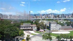 台北,華山,火警。翻攝自PTT