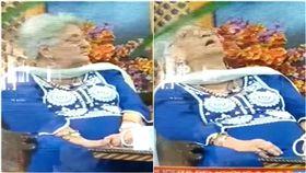 印度女學者在電視直播節目中過世。(圖/翻攝自太陽報)