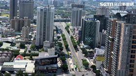房市,推案,鳥瞰,台中七期也是高餘屋區。(圖/記者蔡佩蓉攝影)