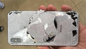 iPhone,新機,摔壞,高價,女友(圖/翻攝自爆廢公社)