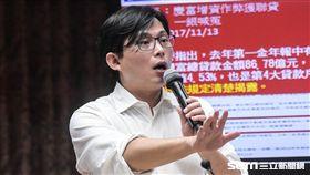 立法院財政委員會,時代力量立委黃國昌。 圖/記者林敬旻攝