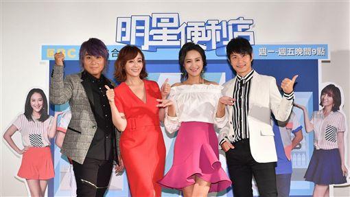 王仁甫、孫協志、季芹、何妤玟 圖/東森電視提供
