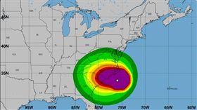 佛羅倫斯颶風撲向南北卡海岸_美國國家氣象局