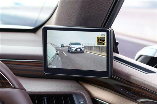 Lexus ES數位後視鏡。(圖/翻攝Lexus網站)