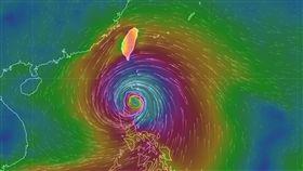 山竹颱風/氣象局