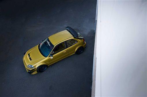 Honda Civic DX改裝(圖/車訊網)