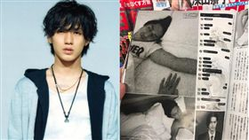 傑尼斯旗下男團「關8」成員錦戶亮爆出無套性侵。(翻攝微博)