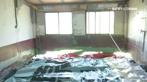 無家可歸17天!燕巢6民宅塌陷 蓋帆布防災