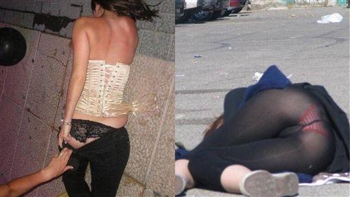 喝酒,女孩,醜態,照片,撿屍,狼爪,性侵,微博,告誡, 圖/翻攝自微博