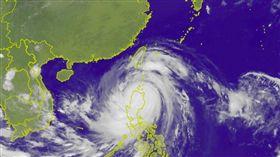 0915 0520衛星雲圖,圖/翻攝自中央氣象局官網
