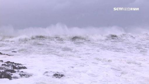 山竹最靠近南台 墾丁強風浪高2米