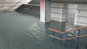 台東,山竹颱風,台東市湧泉運動公園,淹水,出海口