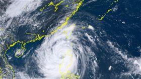 山竹颱風 圖翻攝自向日葵衛星