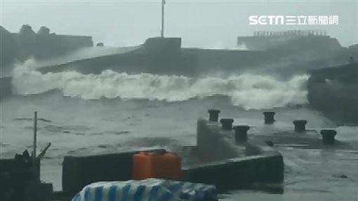 台東,山竹,漁船,大武漁港(圖/翻攝畫面)