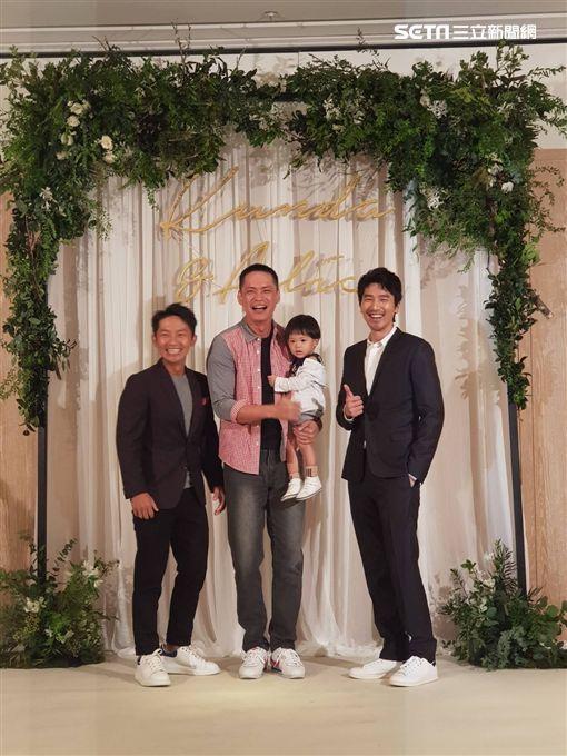 坤達婚宴,方志友女兒mia、歐漢聲女兒JOJO、朱海君NONO、黃鐙輝圖/記者李依純攝影