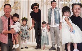 坤達婚宴,方志友女兒mia、歐漢聲女兒JOJO、朱海君NONO、黃鐙輝 圖/記者李依純攝影