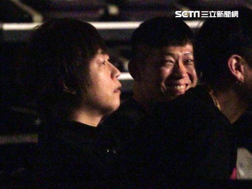 五月天阿信聽譚詠麟演唱會圖/記者李依純攝影