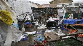 山竹颱風,菲律賓,災情,圖/美聯社/達志影像
