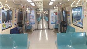 台北捷運,北捷,彩繪車廂。(圖/北捷提供)