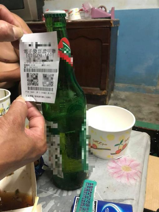 想小酌竟買到「半瓶酒」!網笑:怕你喝太醉啦圖翻攝自爆料公社臉書