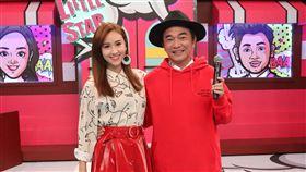 吳宗憲、吳姍儒16日錄小明星大跟班 圖/中天電視提供