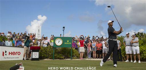 伍茲確認參加在11月底巴哈馬舉行英雄挑戰賽。(圖/翻攝自伍茲基金會網站)