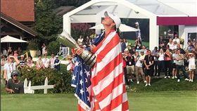 史坦福特拿下生涯首場大賽冠軍。(圖/翻攝自LPGA IG)
