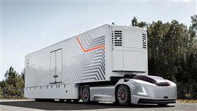 Volvo Vera自動駕駛曳引平台。(圖/翻攝Volvo Trucks網站)