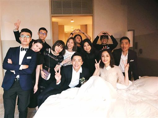 謝坤達,柯佳嬿,結婚/翻攝自柯佳嬿臉書