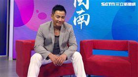 江宏恩受邀前往廈門參加《傳唱閩南》節目錄影。(圖/艾迪昇提供)