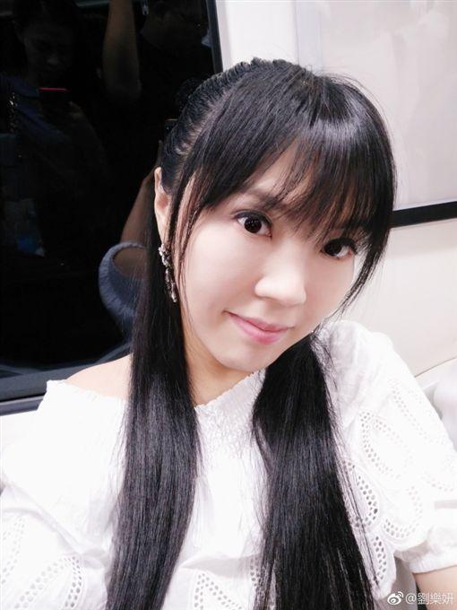 劉樂妍被稱為「女版黃安」。(圖/翻攝自劉樂妍微博)