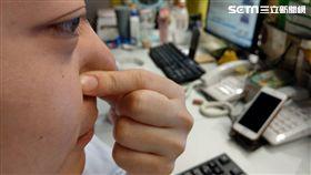 鼻竇炎,鼻涕,鼻塞,鼻涕倒流 圖/資料照