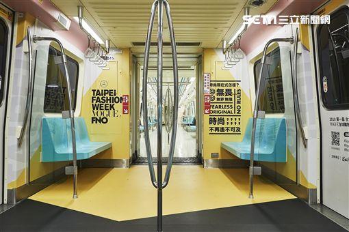 捷運車廂,伸展台,台北市文化局,VOGUE,台北時裝週