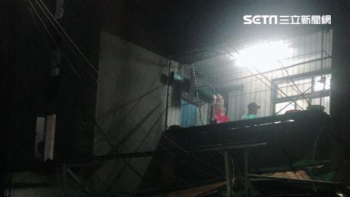 台北,內湖,公寓,屍體(圖/翻攝畫面)