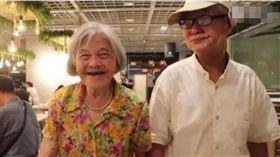 結婚59年從沒做過飯! 老夫婦三餐在外浪漫 80多歲依舊恩愛(圖/翻攝自微博)