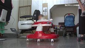 -螃蟹車-嬰兒學步車-學步車-(示意圖,非當事人)六月嬰坐螃蟹車 險遭陌生男偷抱走