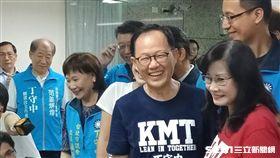 國民黨台北市長候選人丁守中,中央黨部客家後援會成立(圖/記者李英婷攝)
