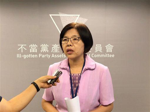 行政院不當黨產委員會發言人施錦芳。(圖/黨產會提供)