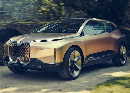 BMW Vision iNEXT Concept。(圖/翻攝BMW網站)