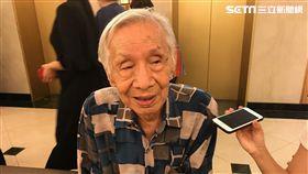 常楓高齡95仍戲約不斷。(圖/記者蔡世偉攝影)