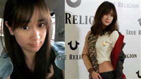 李晶晶身材依舊維持超好,為品牌站台還同時擔任Model。(圖/ True Religion提供)