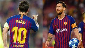 梅西「帽子戲法」 歐冠戰場旗開得勝 Lionel Messi,歐冠聯賽,巴塞隆納 翻攝自巴塞隆納官方推特