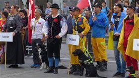 台中,腿腿,世界救難犬錦標賽,國旗,IRO(圖/翻攝臉書)