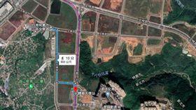 林口A7重劃區。(圖/翻攝自GoogleMap)