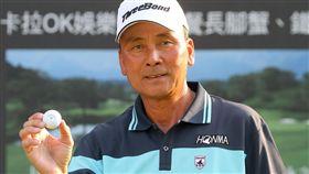 陳志忠打出生涯第7次一桿進洞。(圖/TPGA提供)