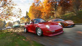 Forza Horizon 4極限競速:地平線4。(圖/微軟提供)