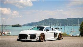 Audi R8改裝輪圈(圖/車訊網)