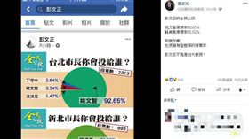 蔡正元 彭文正 (圖/翻攝自蔡正元臉書)