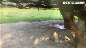 上吊,公園,晨運,中和,翻攝畫面