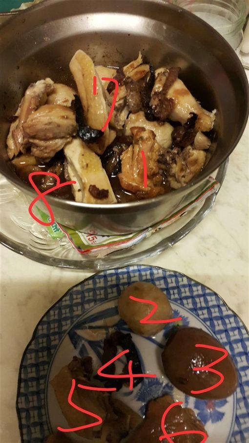 越吃越大鍋 一鍋滷肉「中元吃到中秋」!她怨:要毒死誰?圖/翻攝自爆料公社官網